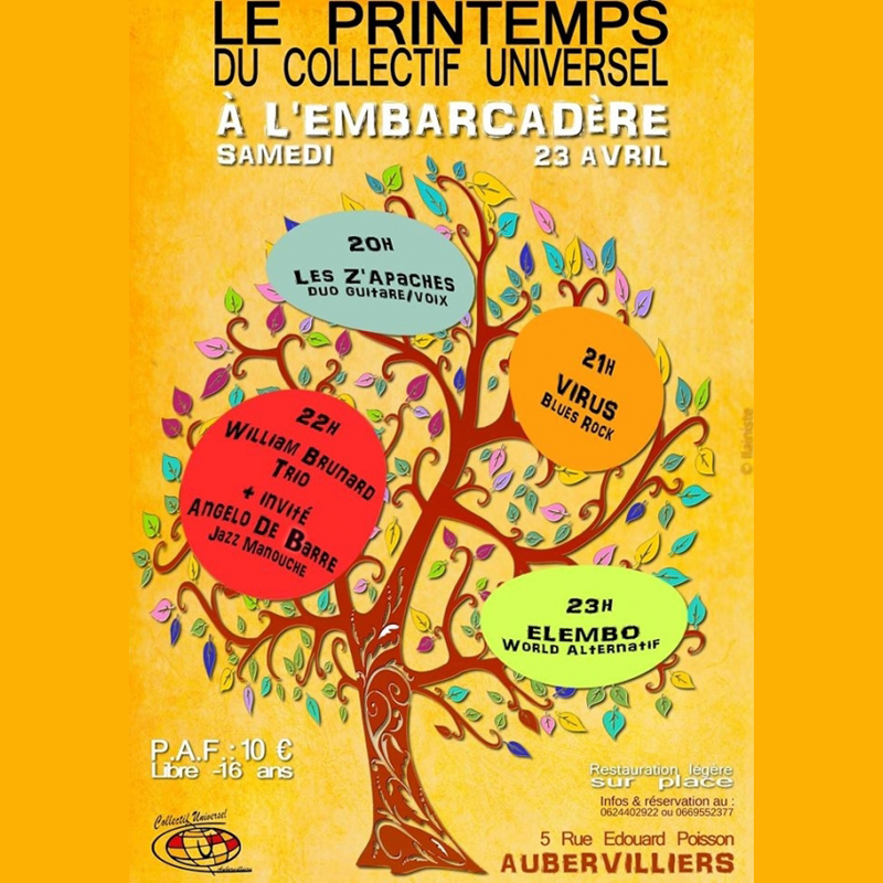 Printemps du collectif universel à l'embarcadère